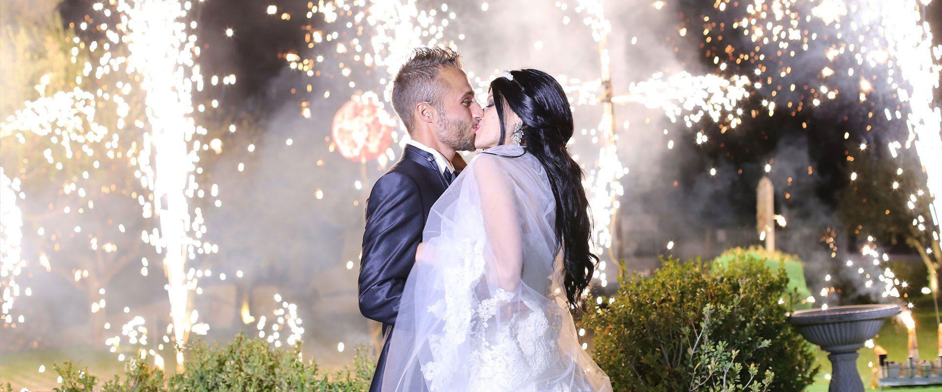 Fuochi D'Artificio in Location Per Matrimoni Napoli Villa Antica Le Dune