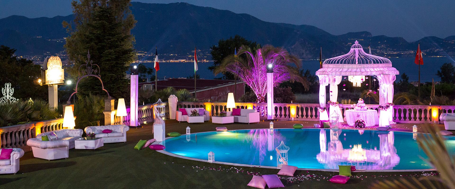 Foto interni Villa per matrimoni Napoli